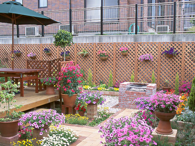 家庭花园设计_成都植物租赁|绿植租摆|花卉盆栽出租